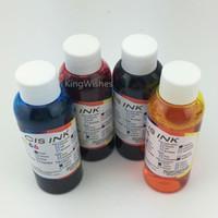 Wholesale Edible Printers - Free Shipping 4PCS x 100ML Universal Edible Ink For Epson Desktop Inkjet Printer BK M Y C