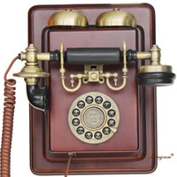 Wholesale Antique Wall Mount Telephone - European-style wall-mounted telephone antique telephone antique telephones Paramount Paramount telephone 1912 phone