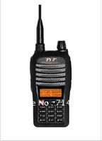 Wholesale Dualband Vhf - Wholesale-Dualband UHF VHF walkie talkie TYT TH-UVF1 Two Way Radio