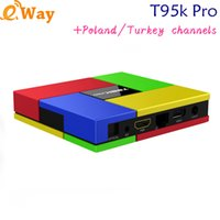 Wholesale internet server - T95K PRO IUDTV IPTV streaming Smart TV Box Video 2000+ Channels Set Top Box Internet Media Player Sweden iptv accout server