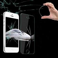 verres trempés protecteur d'écran s5 achat en gros de-Écran en verre trempé Film de protection pour écran de verre trempé Pour Galaxy S6 Pour iPhone 6 Plus, iPhone 5S Samsung S5 S4 Note 4 5 5