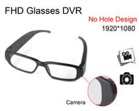 Wholesale Dv Dvr Sunglasses - 100% New Promotion Time-limited No Hole A1000 1920*1080p Sunglasses Video Spy Cameras Eyewear Mini Dv Dvr with Glasses Hidden