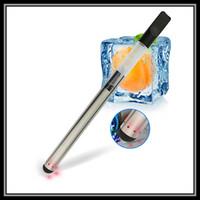 Wholesale Ecig Batteries Led - 3 Colors Bud Touch Hemp Oil Ecig Vaporizer Kit Mini Automatic Battery 280mAH LED Light Wax Vape Pen with Huge Clouds Vaping E-Cigarette