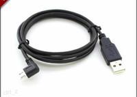 sol kablo toptan satış-2015 mikro usb erkek 90 derece sol açılı usb erkek şarj kablosu samsung htc huawei xiaomi için
