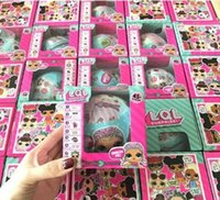 LOL Surprise Doll 10 cm Grande Sorella New Hot Kawaii LOL SURPRISE DOLL Can Water Jet Doll Style Casuale Invia Color Box Pack Azione Anime