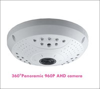Wholesale High Resolution Dome - Panoramic View AHD Camera in 960P high resolution 360 degree full angle Fisheye Lens CCTV Dome Camera AS-AHD360A