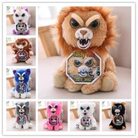 Wholesale Prank Toys For Kids - Change Face Feisty Pets Plush Toys Stuffed Animal Doll For Kids Cute Prank toy Christmas Gift Stuffed Toy 15 design