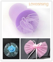 "Wholesale Moving Track - Tracking number-4 Rolls 6""x100y Lavender Color Tulle Rolls Spool Tutu DIY Craft Wedding Banquet Fabric Wedding Car Decor"