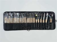 dhl косметическая распродажа оптовых-Большие Продажи!32Pcs профессиональный макияж кисти косметические кисти установить инструмент + случай 5 комплектов бесплатная доставка DHL