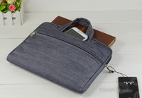 Zipper 13.3 inch tablet pc - 11 Inch Notebook PC Tablet iPad Laptop Sleeve Jean Case Cover Bag For Macbook