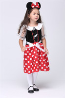 Wholesale Micky Mouse Party - 2015 Girls Dress For Baby Clothing Micky Mouse For Winter The Game Clothing Costume Party Cosplay New Clothing