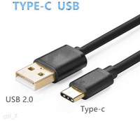 Wholesale macbook black color resale online - Hi speed Micro USB Type C Male to USB Male Data Cable for samsung S8 HUAWEI New Macbook Inch