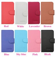 Wholesale Lg G2 Cell Phone - For ZTE prestige N9132 PU Flip Leather case For LG G4 G2 G3 Stylus D690 Wallet Case Cell Phone Cover Case Free DHL