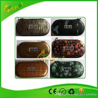 Wholesale Design Ego Carry Case - zipper bag carry case for ego ce4 ce5 with different designs st electric cigarette good quality with different color 190*90*40mm