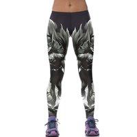 Wholesale Timing Jeggings Pants - 2016 Adventur Time Sports Women Leggings Sport Leggins Fitness Pant 3D Animation Batman Cartoon Gym Legins Jeggings Gothic