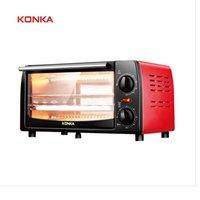 Wholesale aluminum oven - KONKA Electric Oven Household Multifunctional 12L Mini Galvanized Sheet Baking Oven KAO-1202E 1050W With Bakeware