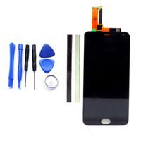 telefon ekranı değiştirme araçları toptan satış-Toptan Satış - Meizu M2 Not Cep Telefonu Parçaları Black + Tools Toptan-Orijinal 5.5Inch M2 Not LCD Ekran + Digitizer Dokunmatik Ekran Değiştirme