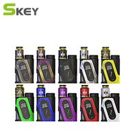 Wholesale Peak Metal - 100% Genuine Ijoy Capo Squonk 100W Starter Kits with Combo RDA Triangle 20700 Battery 3000mAh 40A Peak With 9ml Empty Bottle Kit