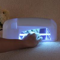 Wholesale Spa Art - Professional 110-220V 9W Nail Art Polish Dryer Bulb Lamp UV Gel Acrylic Cur-ing Light Spa Kit Nails Beauty Tools Hot Sale