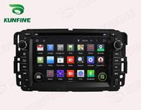 Wholesale Navigation For Gmc - Quad core 1024*600 HD Screen Android 5.1 Car DVD GPS Navigation Player for GMC Yukon Tahoe 2007-2012 BluetoothWifi 3G SteeringWheelControl