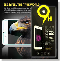 Wholesale Screen Explosion Iphone - For Iphone 7 A3 A5 A7 J3 J5 J7 2017 Tempered Glass Screen Protectors 2.5D Explosion Shatter Screen Protector In box