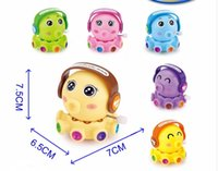 Wholesale Plastic Octopus - A toy Octopus Octopus Dudu cute baby cartoon spin chain fun toys for children