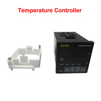 Wholesale Omron Temperature Controller - D1S-VR-220 Sestos Dual Digital Pid Temperature Controller 2 Omron Relay Output Black