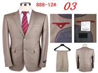 Wholesale Latest Suit Style For Men - Wholesale-Free shipping latest style suit for men suit (coat + pants) fashion top design suit size S M L XL XXL XXXL