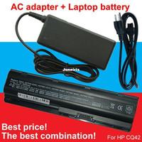Wholesale Dv3 Battery - Powerful 1pcs laptop battery + 1pcs AC Adapter For HP dm4-1100 dm4-2000 dm4-3000 dv3-4000 dv4-4000 dv5-2000 dv6-3000 dv6-4000 dv6-6000