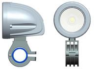 faróis de nevoeiro para barcos venda por atacado-O envio gratuito de 2 Polegada 12 V / 24 V 800LM 10 W À Prova D 'Água LEVOU Luz de Trabalho de Condução Nevoeiro lâmpada para Carro / Motocicleta / Barco