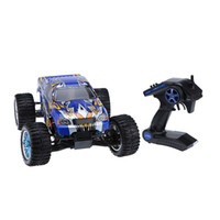 Wholesale Hsp Brushless - 100% Original HSP 94111 2.4Ghz 2CH Transmitter Electronic Powered 3300KV Brushless Motor 1 10 RTR 4WD Off-road RC Car order<$18no track