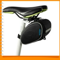 Wholesale Roswheel Road Mountain Bike Bicycle Saddle Seat Bag Cycling Tail Back Pouch Accessories with Mounting Tools