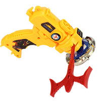 los mejores juguetes de navidad al por mayor-Spinning Top Toys For Kids Regalos de Navidad Sable de luz 1pcs Beyblade Metal Fusion Bb114 4d Variares D: D Launcher Pack Yoyo Toy Fang Beyblade
