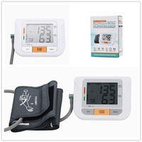 Wholesale Digital Upper Arm Sphygmomanometer - Automatic Upper Arm Digital Blood Pressure and Pulse Monitor Sphygmomanometer Portable Blood Pressure Monitor Groups Memorry