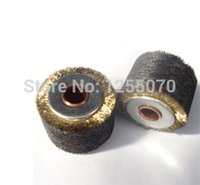 Wholesale Wire wheels peeling paint peeling paint stripping round wire brush wheel diameter height hole order lt no track