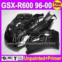 Wholesale Suzuki Gsxr 1996 - 7gifts Unpainted+Primer Fairing For SUZUKI GSX-R600 96-00 GSXR600 GSXR 600 96 97 98 99 00 1996 1997 1998 1999 2000 Fairings Bodywork Body