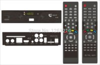 Wholesale Dvb Gprs - FREE SHIPPING QSAT Q SAT Q-SAT Q11G Q13G Q15G Q23G GPRS dongle Decoder DVB-S2 remote control for Africa