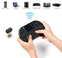 Teclado mayor-UKB-500-RF 2.4GHz mayoría Mini Wireless Mouse Combo Air Mouse ratones con receptor USB para TV BOX PC multimedia mayorista