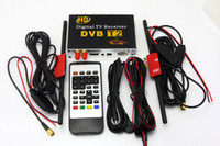 HD Auto-Digital-TV-Tuner DVB T2 Receiver Box DVB-T2 MPEG4 / H.264-Mobile Digital TV für Russland Columbia Thailand + 2 Antennen