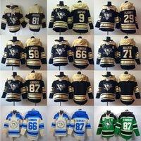 Wholesale Grey Sweatshirts - Factory Outlet, Pittsburgh Penguins Evgeni Malkin Hoody 71 Men's 87 Sidney Crosby Ice Hockey Hooded 58 Kris Letang 81 Phil Kessel Sweatshirt