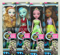 Wholesale Plastic Doll Joints - Wholesale Creative Gift for Kids FAD Girls Monster High Barbie Dolls 24.5 cm Devil Beauty Toys Kids Girl Doll Moveable Joint l