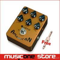 Wholesale Effects For Voices - Joyo JF-14 American Sound Effects Pedal with Fender Deluxe Amp Simulator and Unique Voice Control Free shipping mu0014