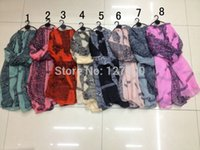 Wholesale lace infinity scarves for sale - Group buy 2015 Fashion Women Scarves Lady Gradient Lace Dot Print Shawl Women Hijab Scarf Infinity