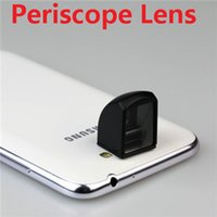 Wholesale Periscope Lens For Iphone - Wholesale-30 pcs lot Free shipping,2015 Newest Creative Periscope Kleptoscope lens for iPhone 4 iPhone 5 Samsung S3 S4 Note2,retail box