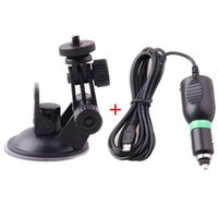 Wholesale Car Windshield Mount For Sport Camera Accessories Car Holder Set With Car Charger Suction Cup Bracket For SJ1000 SJ3000 SJ4000 order lt no t