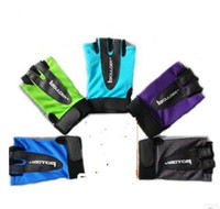 Wholesale Thin Gloves For Men - Wholesale-Fitness gloves for men and women half refers to the movement training dumbbell antiskid ultra-thin armguard palm horizontal bars