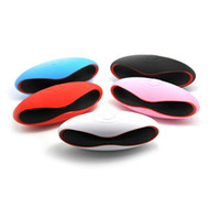 Wholesale universal rugby bluetooth speakers for sale - Group buy Mini X6U X6 Rugby Football Stereo Speaker Subwoofers Mini Portable Soccer Wireless Bluetooth V3 Speakers With U Disk TF Card DHL MIS083