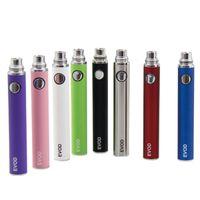 Wholesale Evod E Cig Starter Kit - E Cigarettes kangertech EVOD Battery 650mah 900mah 1100mah for MT3 CE4 CE5 CE6 e cig starter kits Colorful Battery automatic vape pen