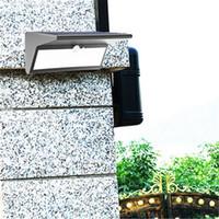 Wholesale Solar Spot Lights For Garden - Garden Solar Sensor 46 LED Lamp 1000LM PIR Motion Sensor T Shape Waterproof Outdoor Wall Lamp Security Spot Light for garden