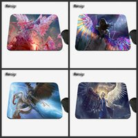 Mairuige Fashionable 2017 Nova chegada Mais vendidos Angel Girl Color Mouse Pad Computer Gaming Tapete de rato Gamer Play Mats
